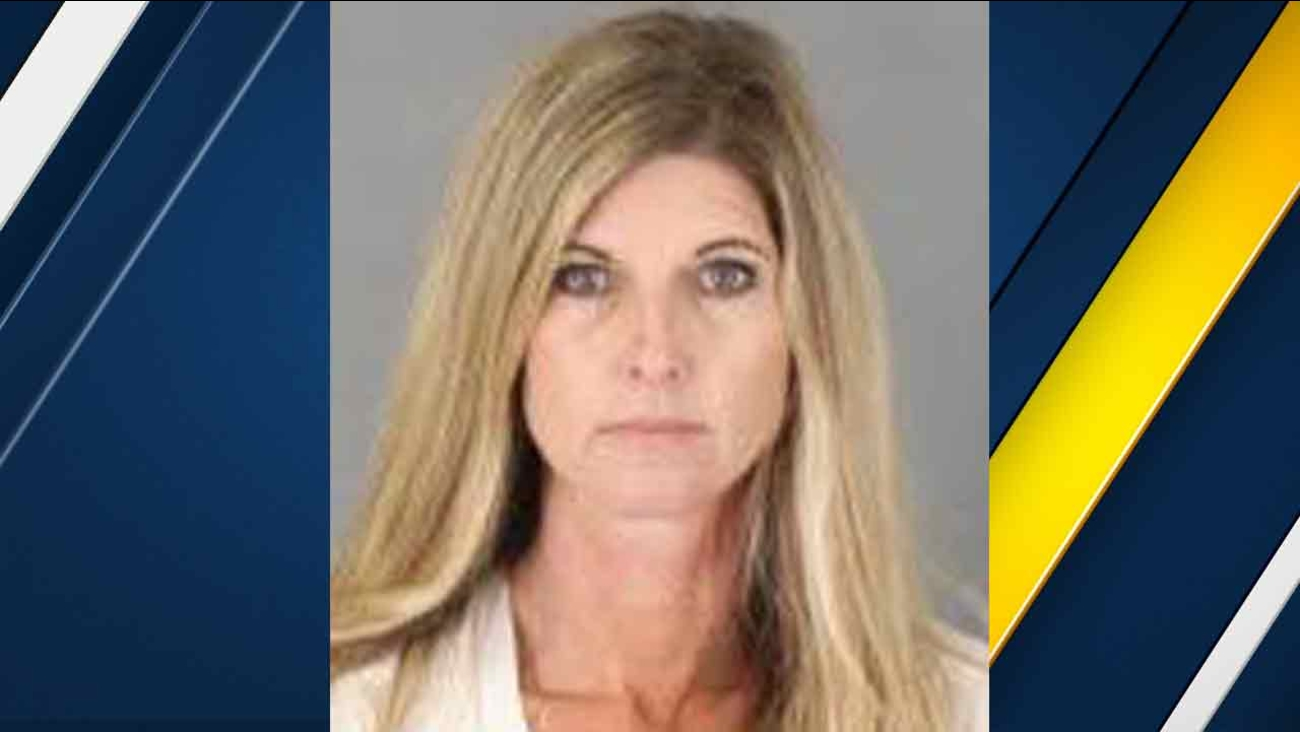 Shannon Fosgett, 44, seen in a booking photo provided by the Murrieta Police Department on Friday, Dec. 4, 2015.