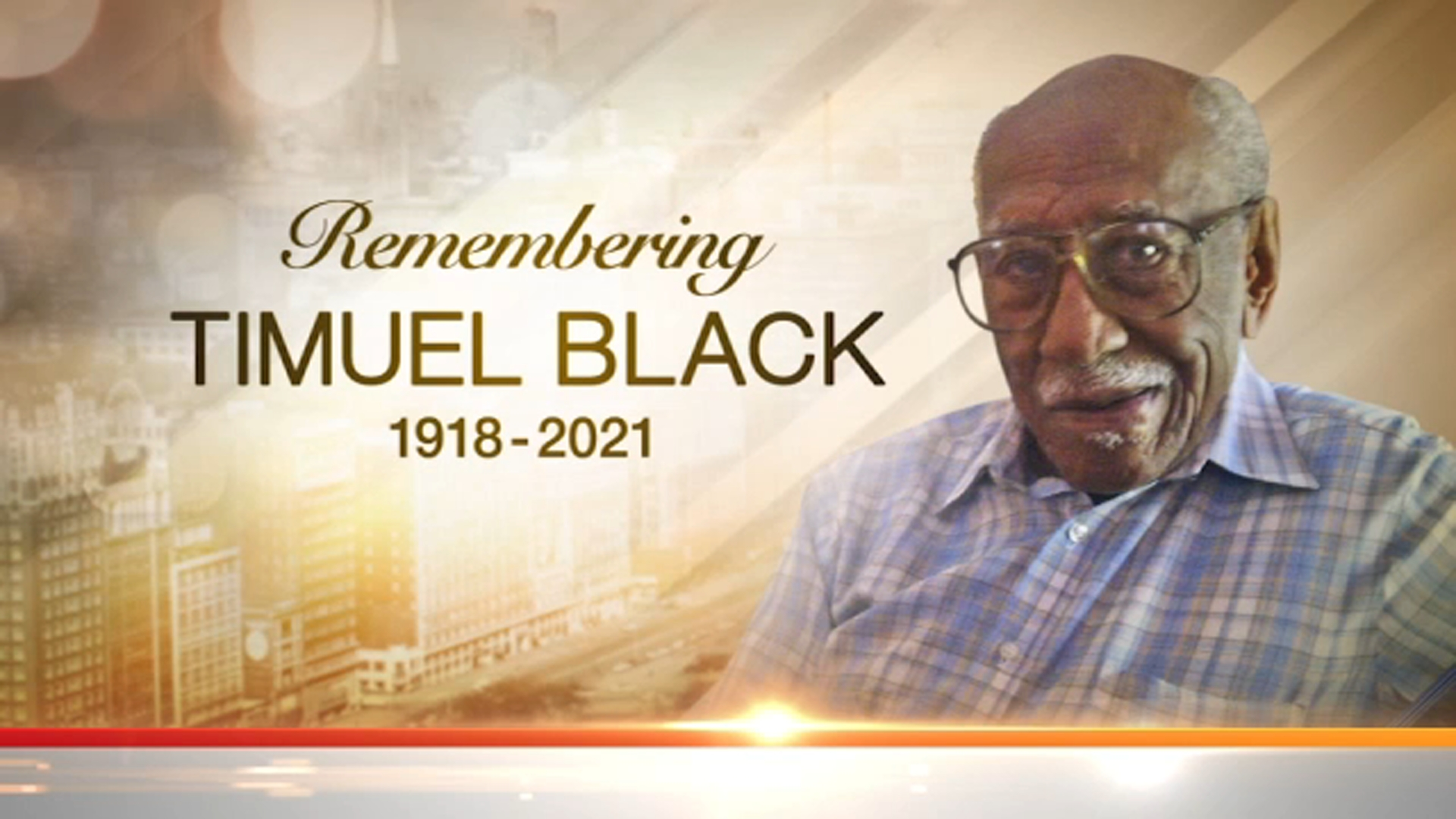 Private Funeral to be Held for Chicago Civil Rights Activist Timuel Black