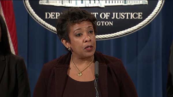 U.S. Attorney General Loretta Lynch announces U.S. Department of Justice investigation of Chicago Police Department.