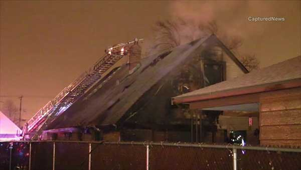 A man was critically injured in a house fire on Chicago's Southwest Side.