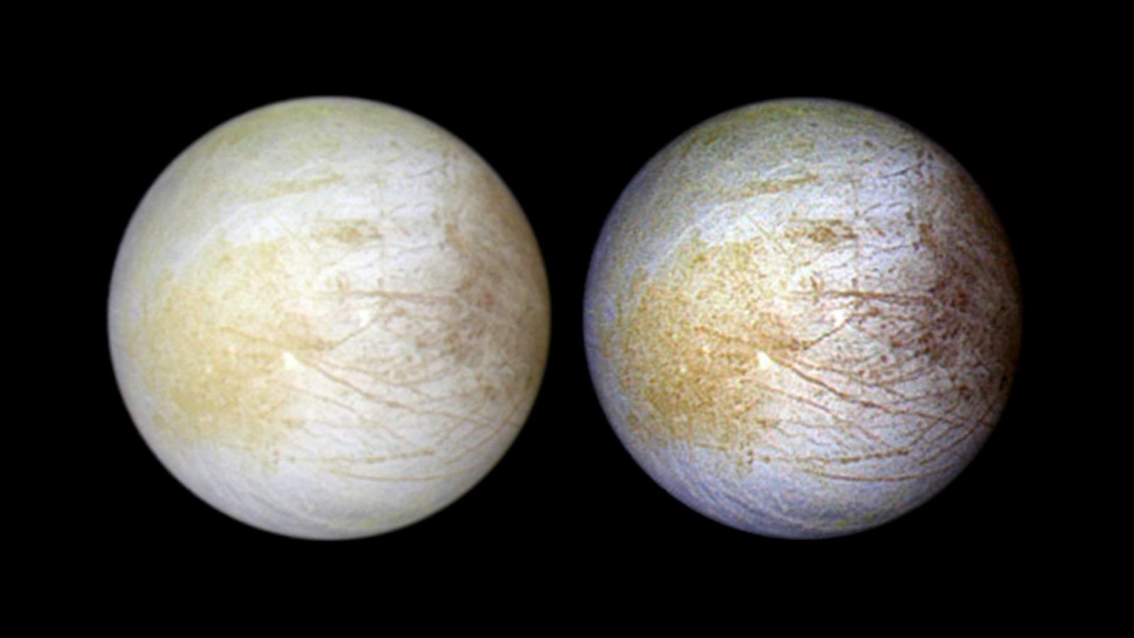Evidence of water vapor found on Jupiter moon Europa, NASA says