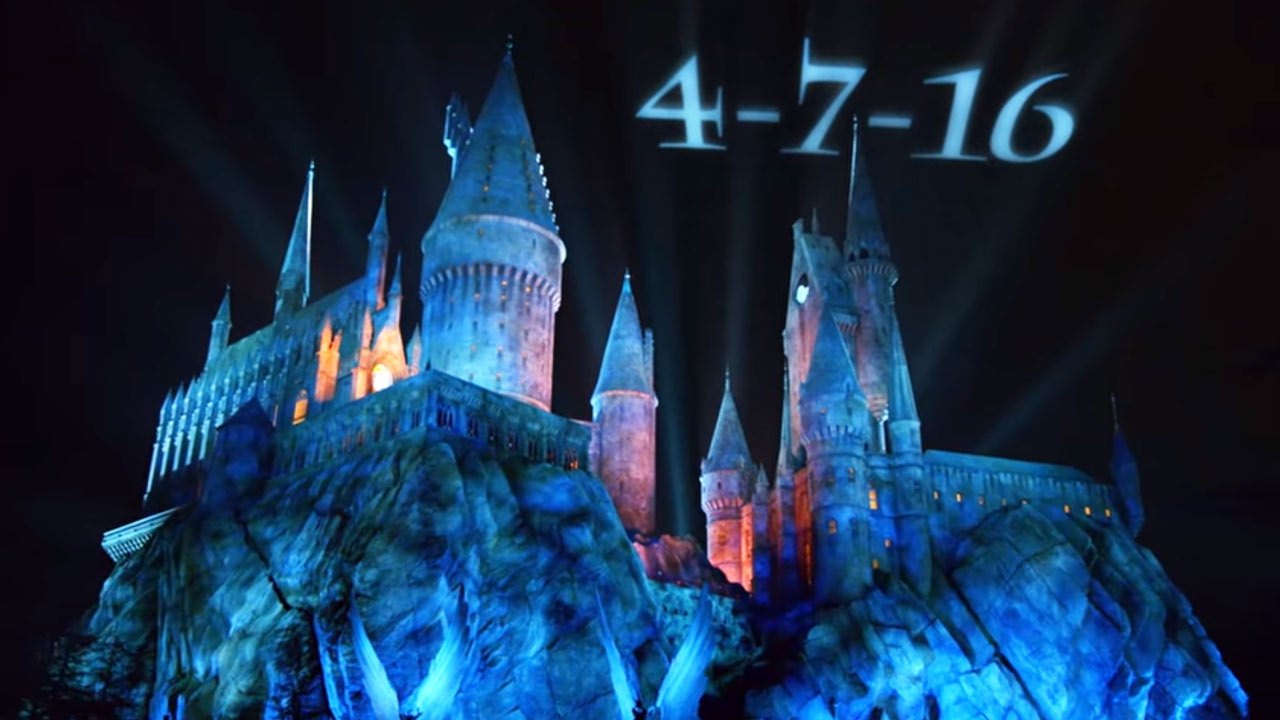 Universal Studios Hollywood announced 'The Wizarding World of Harry Potter' will open its doors April 7, 2016.