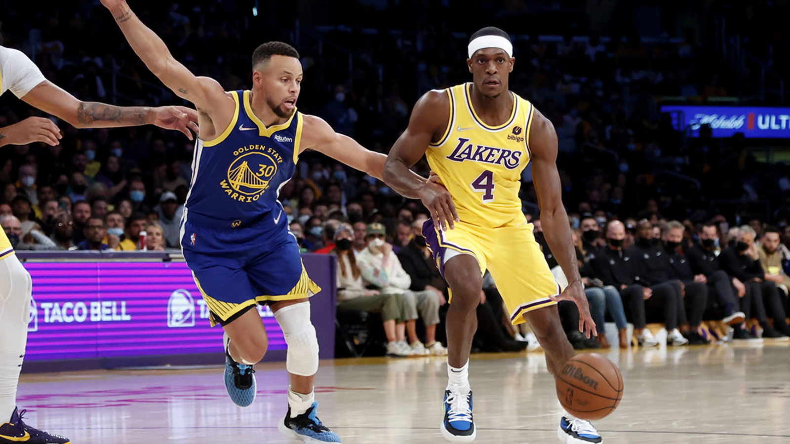 Curry and Golden State Warriors Shock James and Los Angeles Lakers 121-114 in Opener