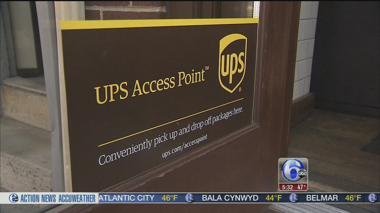 Ups Access Points Allow Package Pickup At Stores 6abccom