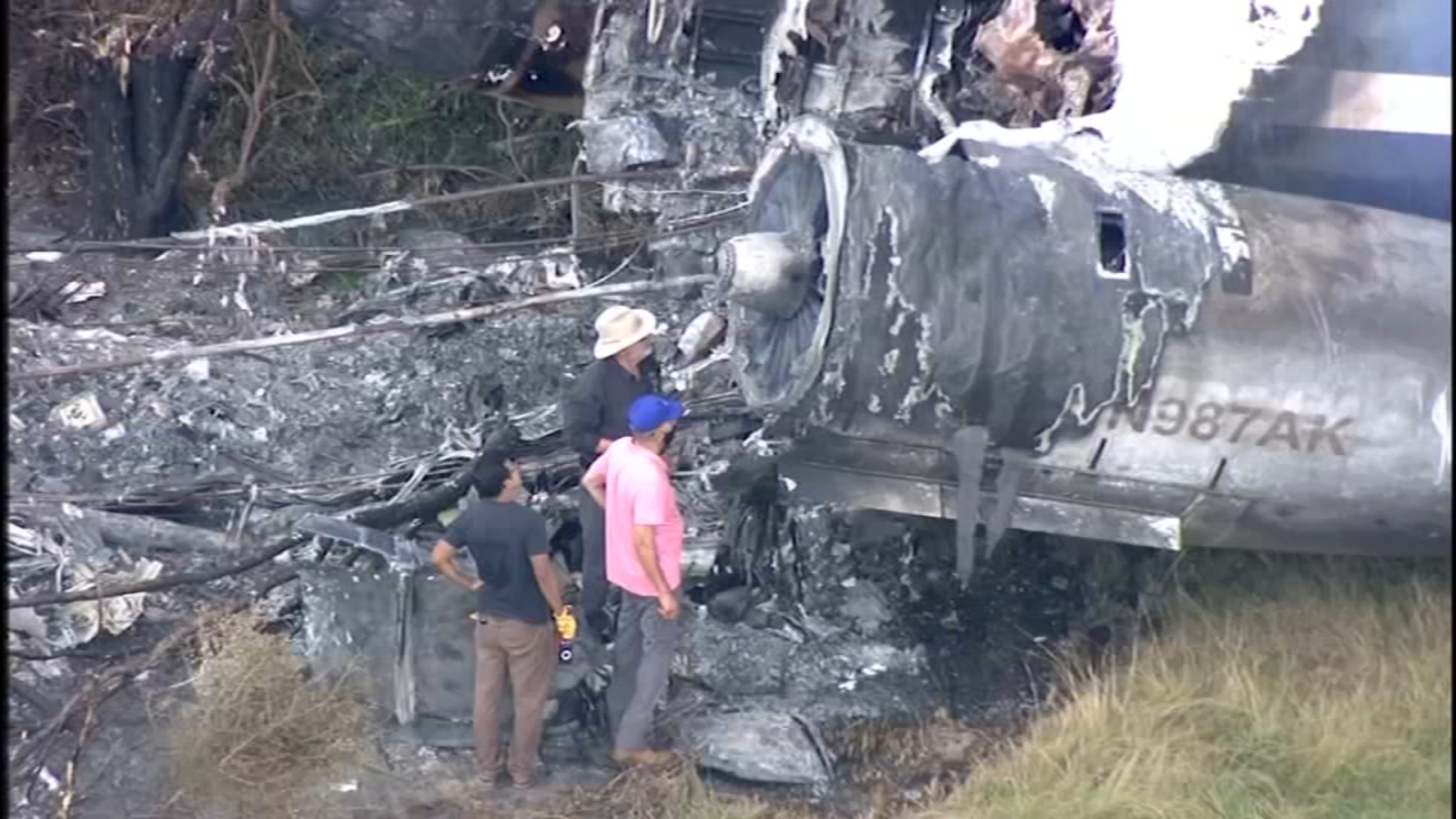 NTSB to give update on MD-87 jet crash in Waller County