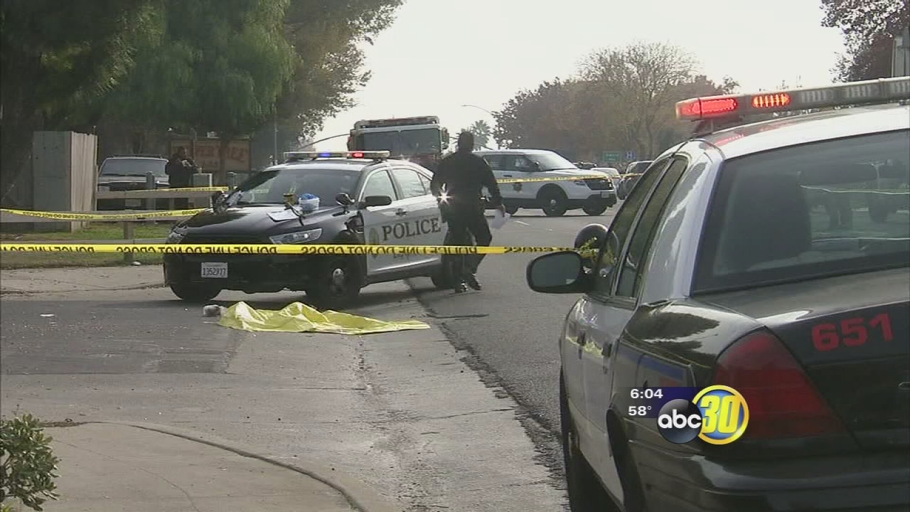 Male victim shot on busy street in Madera