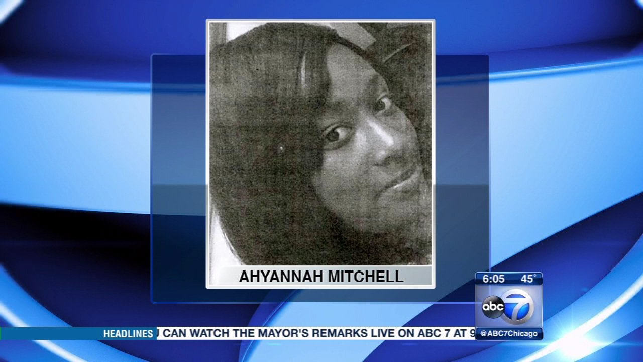 Ahyannah Mitchell, 17, has been missing from Chicago's Englewood neighborhood for two weeks.