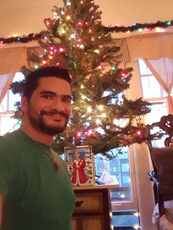 "<div class=""meta image-caption""><div class=""origin-logo origin-image none""><span>none</span></div><span class=""caption-text"">Govinda Kanha Jaanu says he is Hindu but also loves Christmas. (Photo sent to KGO-TV by SarkarKanha /Twitter)</span></div>"