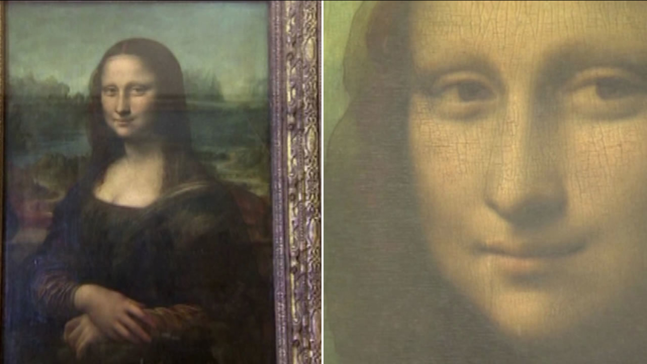 This undated image shows Leonardo da Vinci's Mona Lisa painting.