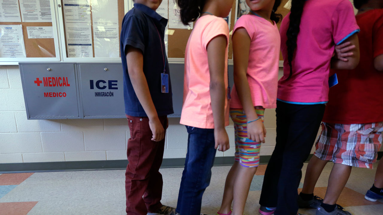 Immigrant children in Texas