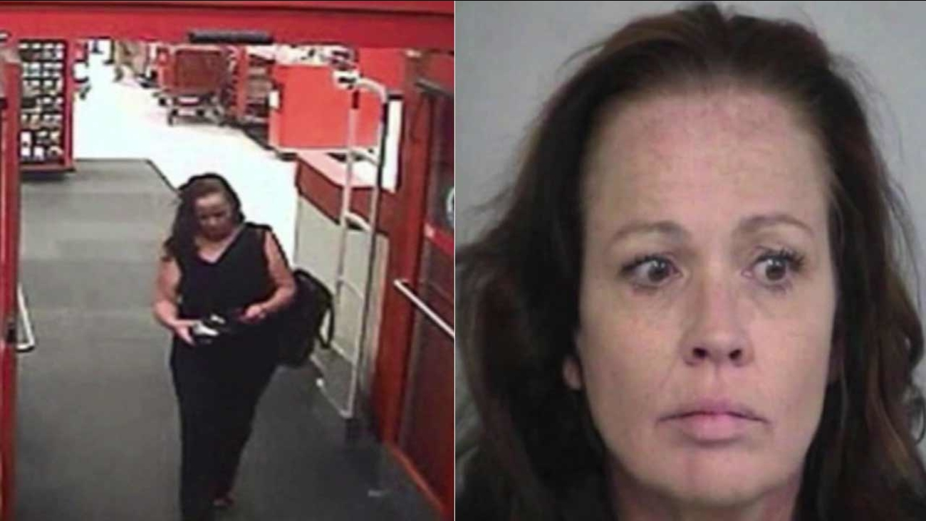 Denise Gunderson, 50, is facing burglary, identity and grand theft charges after allegedly stealing from numerous brides in San Diego and Riverside counties.
