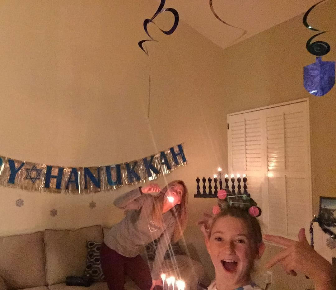 "<div class=""meta image-caption""><div class=""origin-logo origin-image none""><span>none</span></div><span class=""caption-text"">Celebrating on the fifth night of Hanukkah. (Photo sent to KGO-TV by sillysteph1/Instagram)</span></div>"