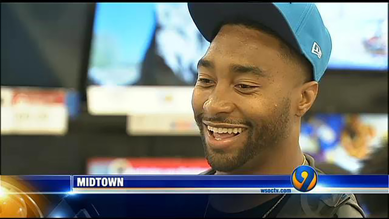 Joe Webb surprises kids with shopping spree