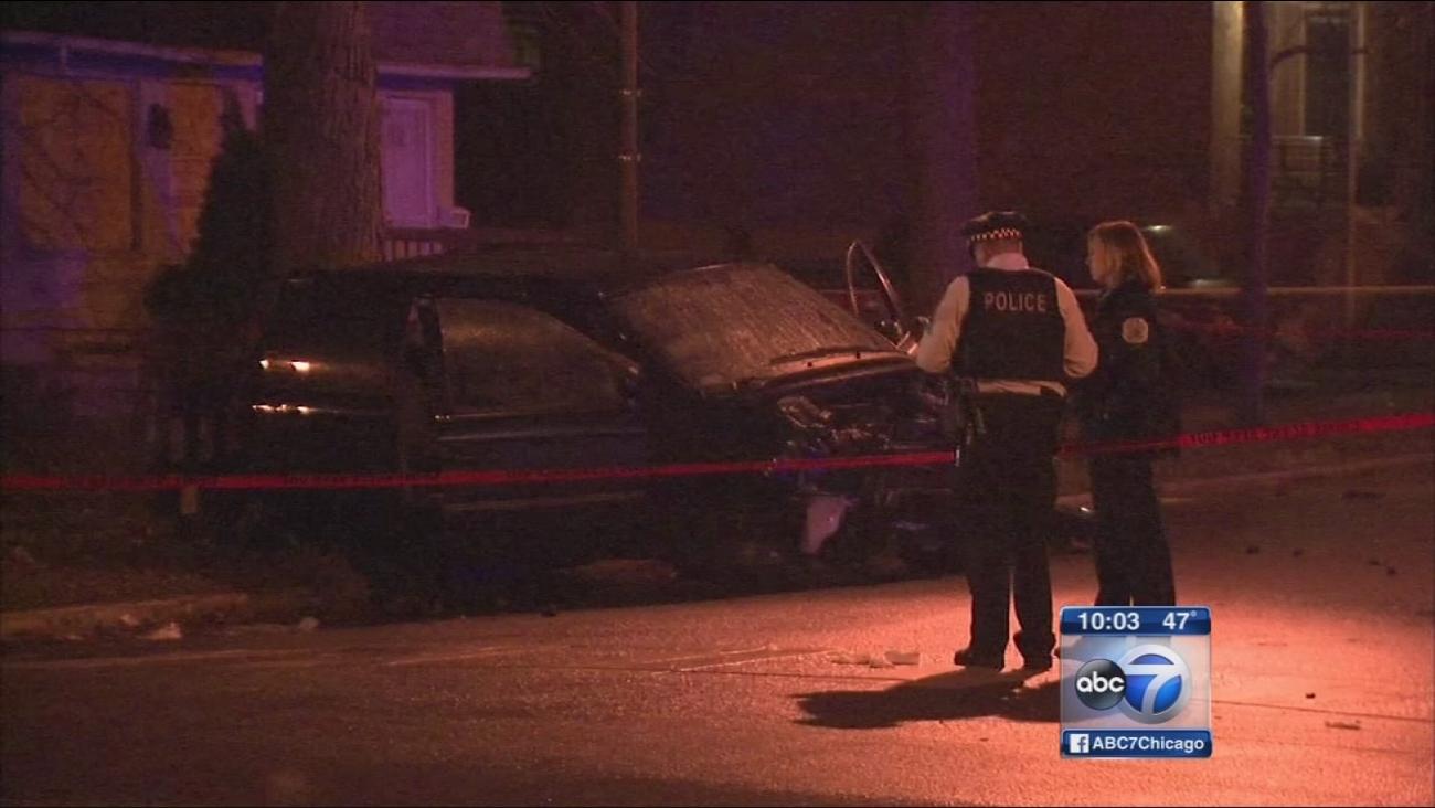 Crash of stolen car injures 11 after short chase