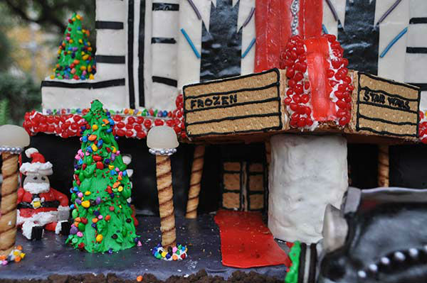 <div class='meta'><div class='origin-logo' data-origin='none'></div><span class='caption-text' data-credit='KTRK Photo'>More than 30 competing teams create masterpieces using 100% edible materials in the 7th Annual Gingerbread Build-Off at City Hall's Hermann Square on Saturday December 12, 2015.</span></div>