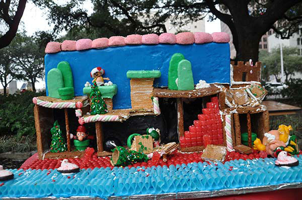 "<div class=""meta image-caption""><div class=""origin-logo origin-image none""><span>none</span></div><span class=""caption-text"">More than 30 competing teams create masterpieces using 100% edible materials in the 7th Annual Gingerbread Build-Off at City Hall's Hermann Square on Saturday December 12, 2015. (KTRK Photo)</span></div>"