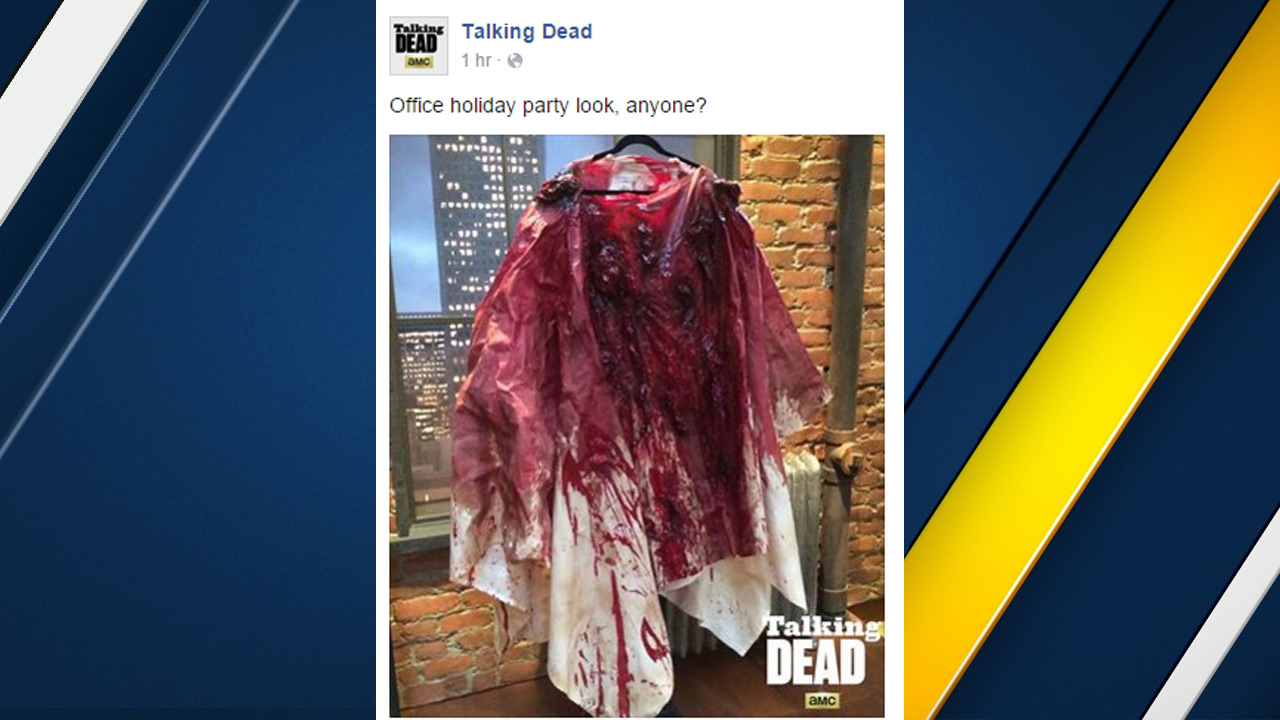 A post to the Facebook page of AMC's 'Talking Dead' sparked outrage following the San Bernardino attack.