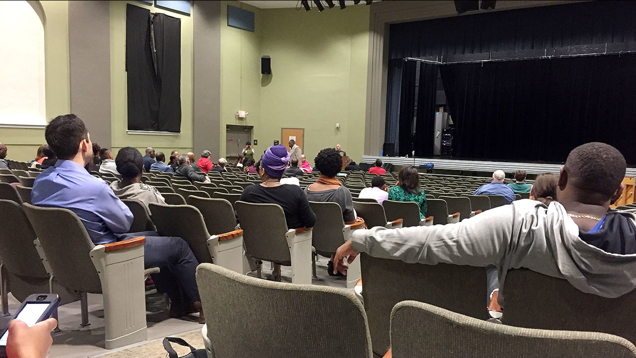 Monday night was the first of two public forums being held for community input. It was held in the auditorium at the Holton Career and Resource Center on Driver Street.
