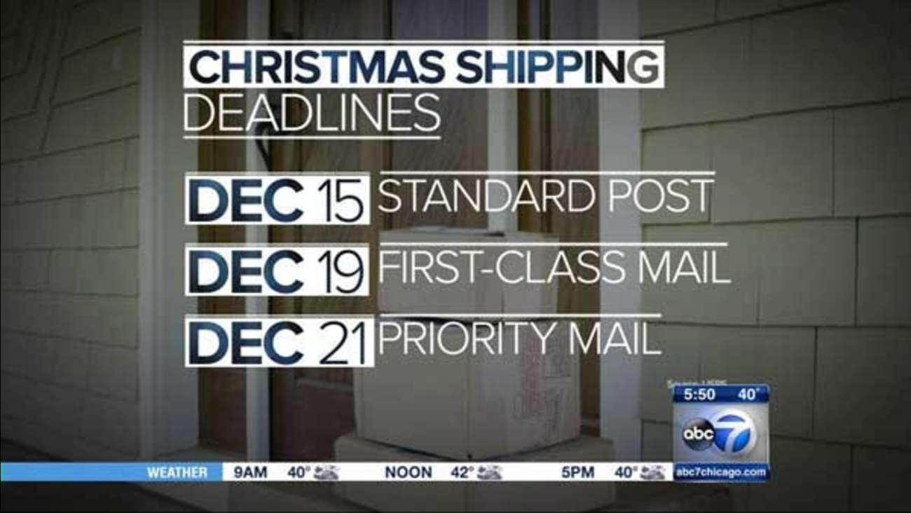 Anyone who wants to pop a holiday package in the mail and have it delivered by Christmas without paying extra needs to send it Tuesday.