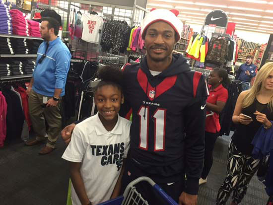 "<div class=""meta image-caption""><div class=""origin-logo origin-image none""><span>none</span></div><span class=""caption-text"">14 Texans rookies teamed up with the Boys and Girls Club and the YMCA and took children on a shopping spree at Academy today in Houston. The kids had 25 minutes to spend $200. (KTRK Photo/ Matt Black)</span></div>"
