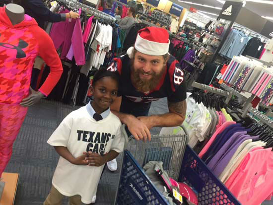 "<div class=""meta image-caption""><div class=""origin-logo origin-image none""><span>none</span></div><span class=""caption-text"">14 Texans rookies teamed up with the Boys and Girls Club and the YMCA took children on a shopping spree at Academy today in Houston. The kids had 25 minutes to spend $200. (KTRK Photo/ Matt Black)</span></div>"