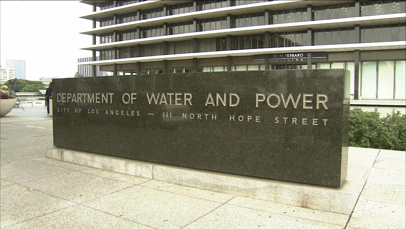 The Los Angeles Department of Water and Power in Los Angeles.