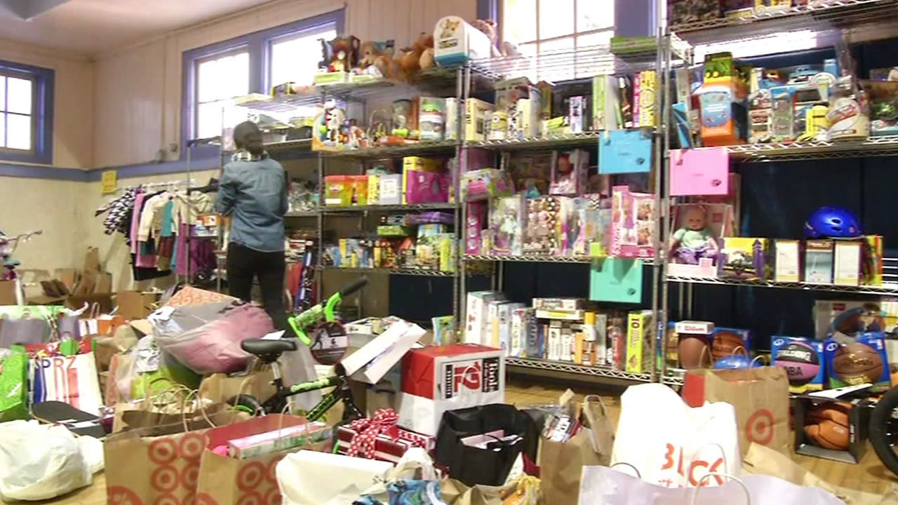 toy drive donations