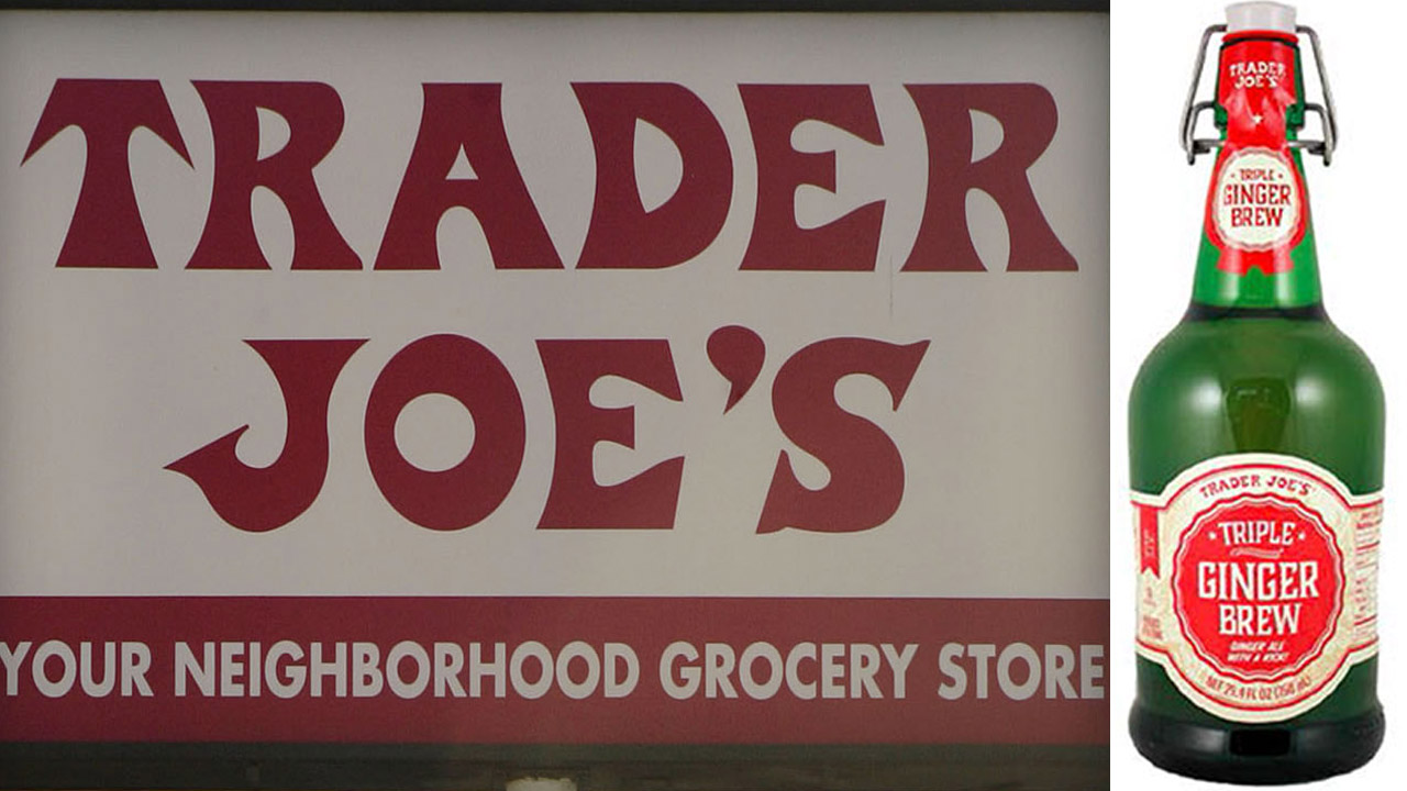 Trader Joe's is voluntarily recalling its Triple Ginger Brew because the unopened glass bottles may burst.