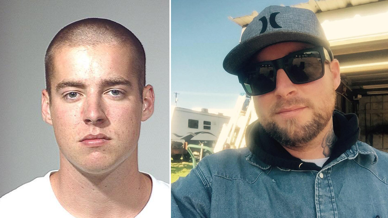 Brandon Ellis, 29, is shown in two undated photos.