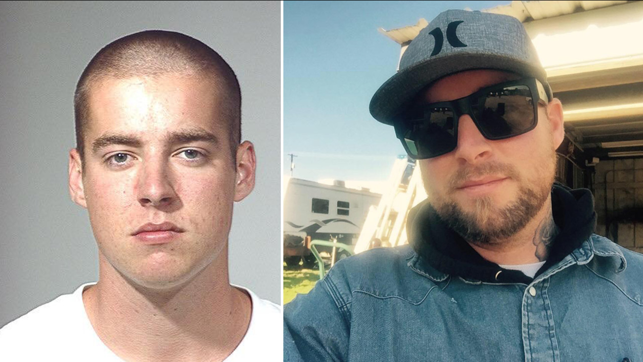 Brandon Ellis, 29, is shown in two undated photos.