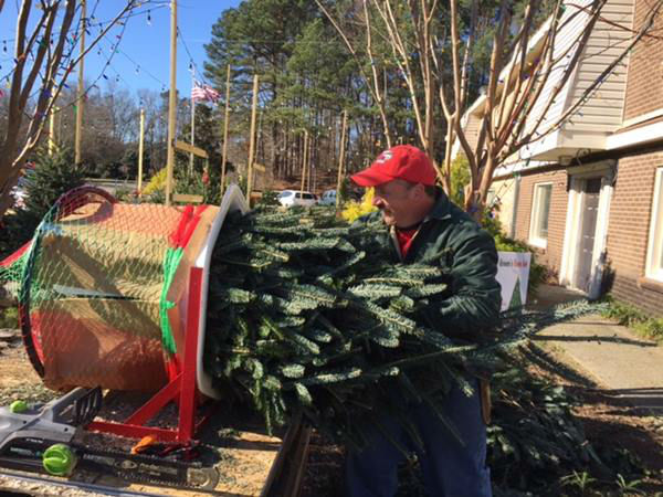 <div class='meta'><div class='origin-logo' data-origin='none'></div><span class='caption-text' data-credit='WTVD Photo'>Christmas Tree giveaway in Cary</span></div>