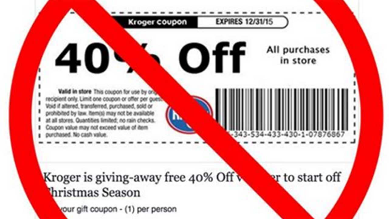 Grinch strikes again with fake grocery store coupons on social media ...
