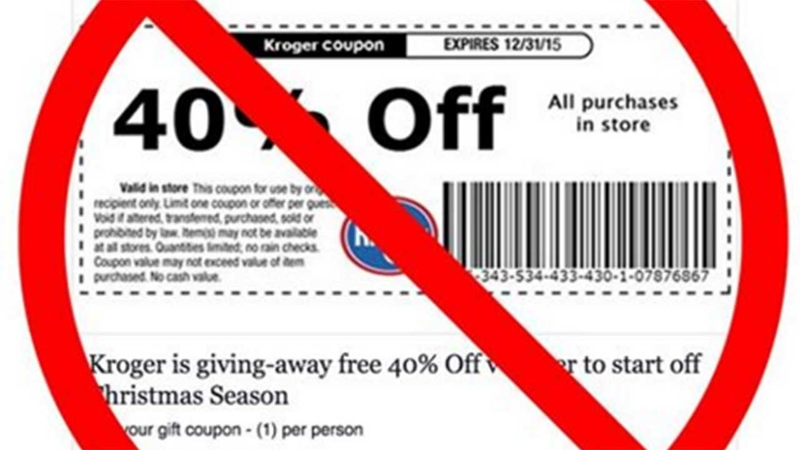 Grinch Strikes Again With Fake Grocery Store Coupons On Social Media Abc13 Com