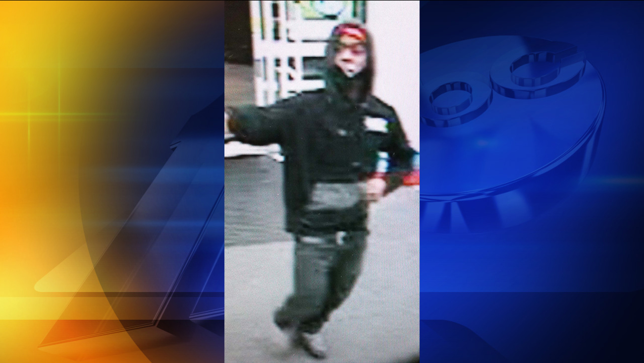 Surveillance photo of the Walgreens robbery suspect