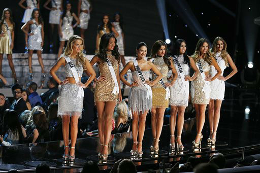 <div class='meta'><div class='origin-logo' data-origin='none'></div><span class='caption-text' data-credit='AP Photo/ John Locher'>Puerto Rico Miss Universe contestant stripped of crown</span></div>