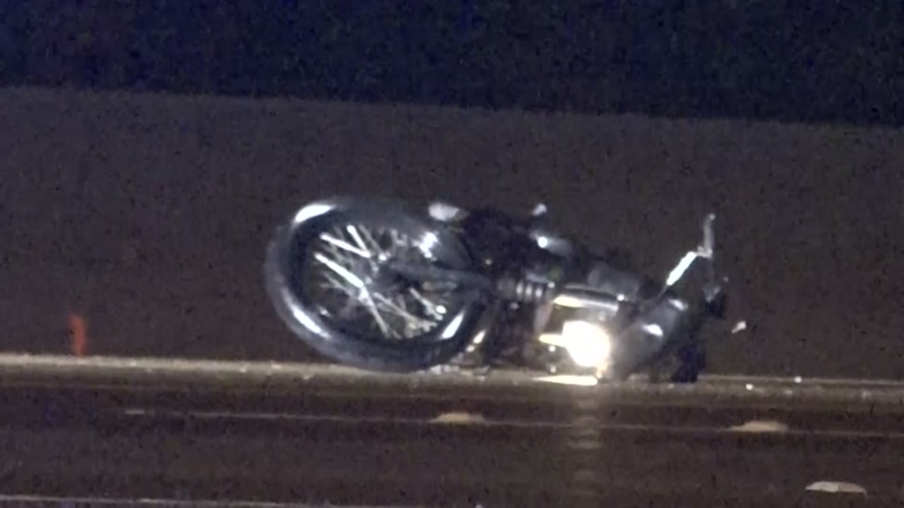 Motorcycle accident in The Woodlands