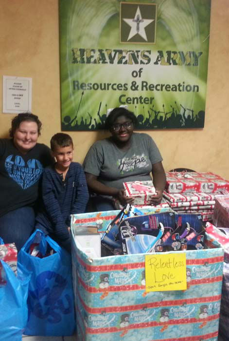 "<div class=""meta image-caption""><div class=""origin-logo origin-image none""><span>none</span></div><span class=""caption-text"">Jacob delivered all of the gifts. The gifts were given to 45 foster children between the ages of one and 14. (KTRK Photo/ Family photo/Janie Morris)</span></div>"