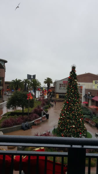 "<div class=""meta image-caption""><div class=""origin-logo origin-image none""><span>none</span></div><span class=""caption-text"">This image shows a soggy Christmas shopping trip in Oakland, Calif. Dec. 21, 2015. (Photo submitted to KGO-TV by @SchoolerLA/Twitter)</span></div>"