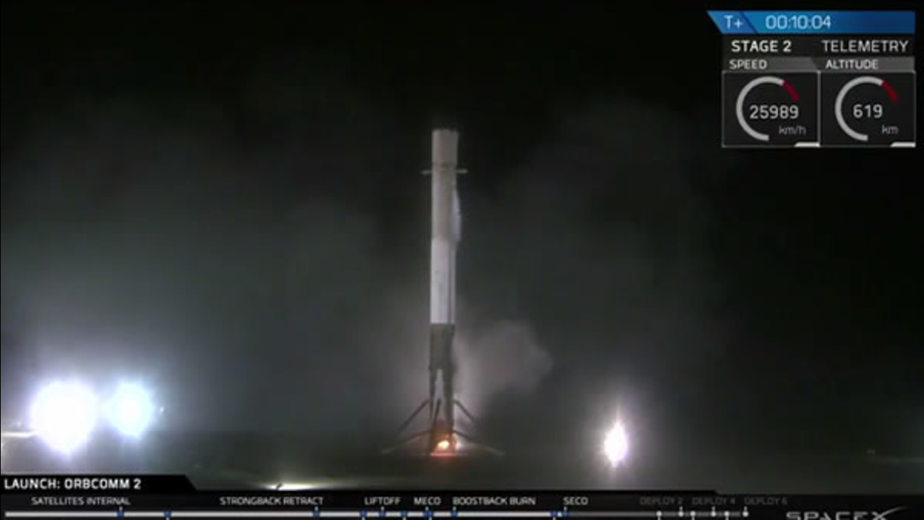 SpaceX announced that it successfully landed the unmanned Falcon 9 in Cape Canaveral, Florida on Monday, December 21, 2015.