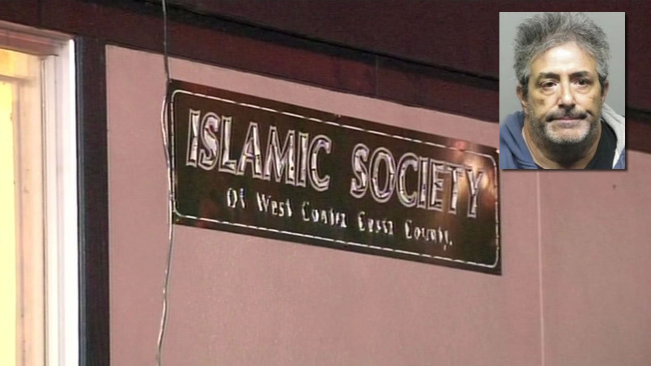 Richmond PD believe William Celli was focused on hurting those at the Islamic Society of West Contra Costa County.
