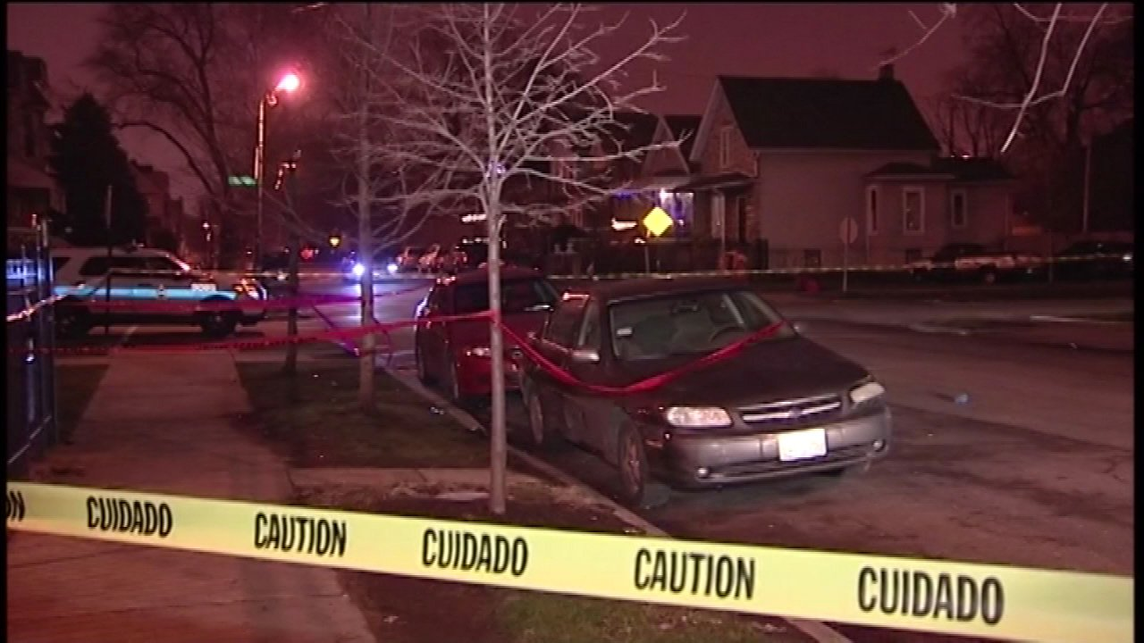 A 15-year-old boy was shot in the neck in Chicago's Englewood neighborhood.