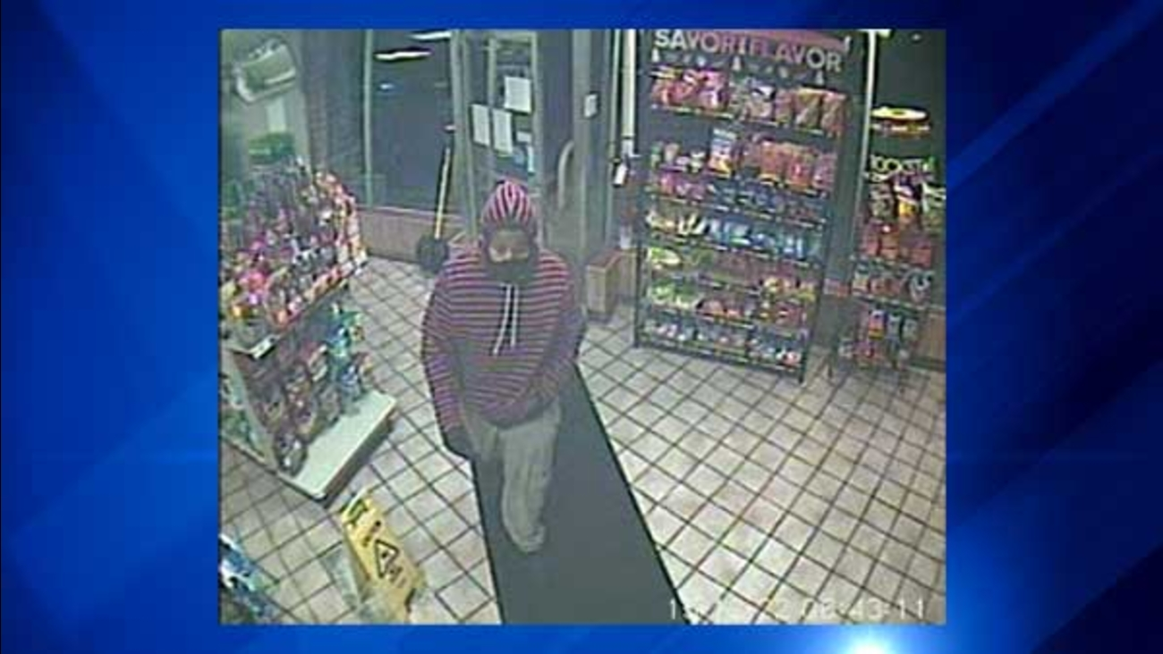 Police in Highland, Indiana, are asking for the public's help to identify a man who robbed a gas station at gunpoint.