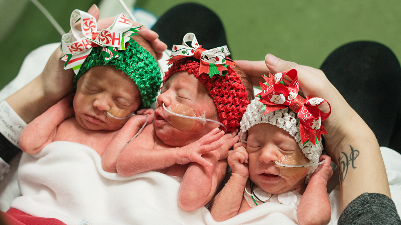 Triplets at Memorial Hermann Southeast