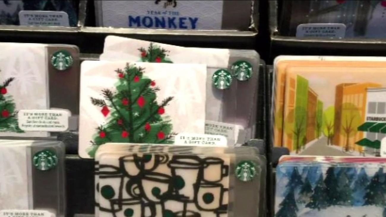 Starbuck's gift card