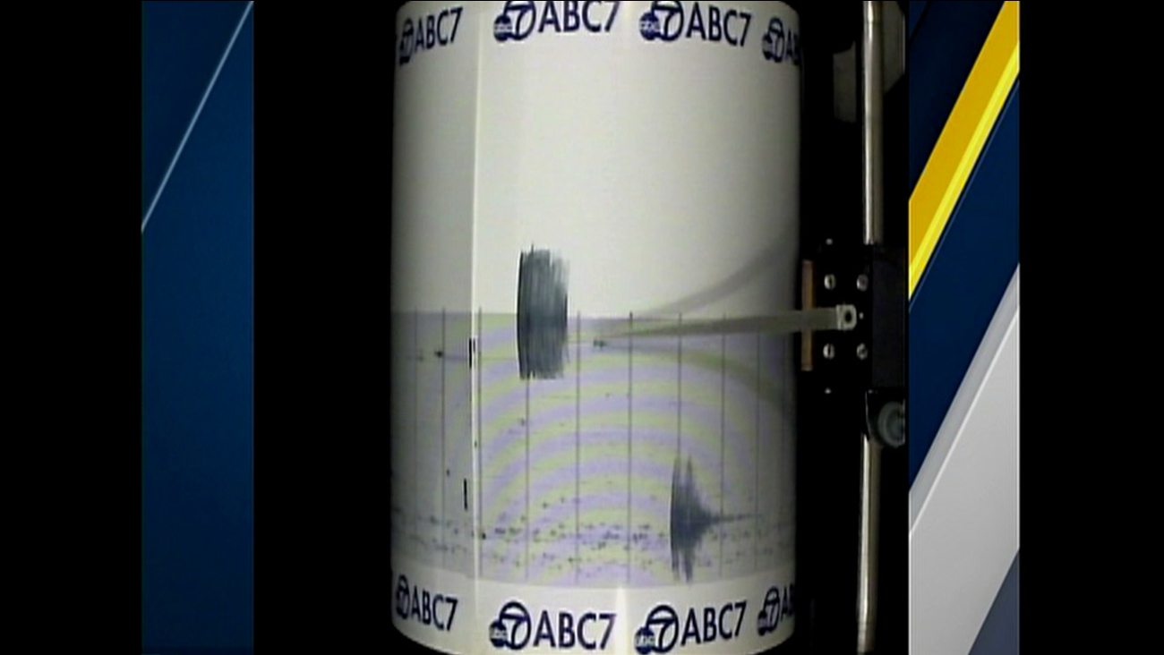 The ABC7 Quake Cam captured the moderate temblor that struck near Barstow on Sunday, Dec. 27, 2015.