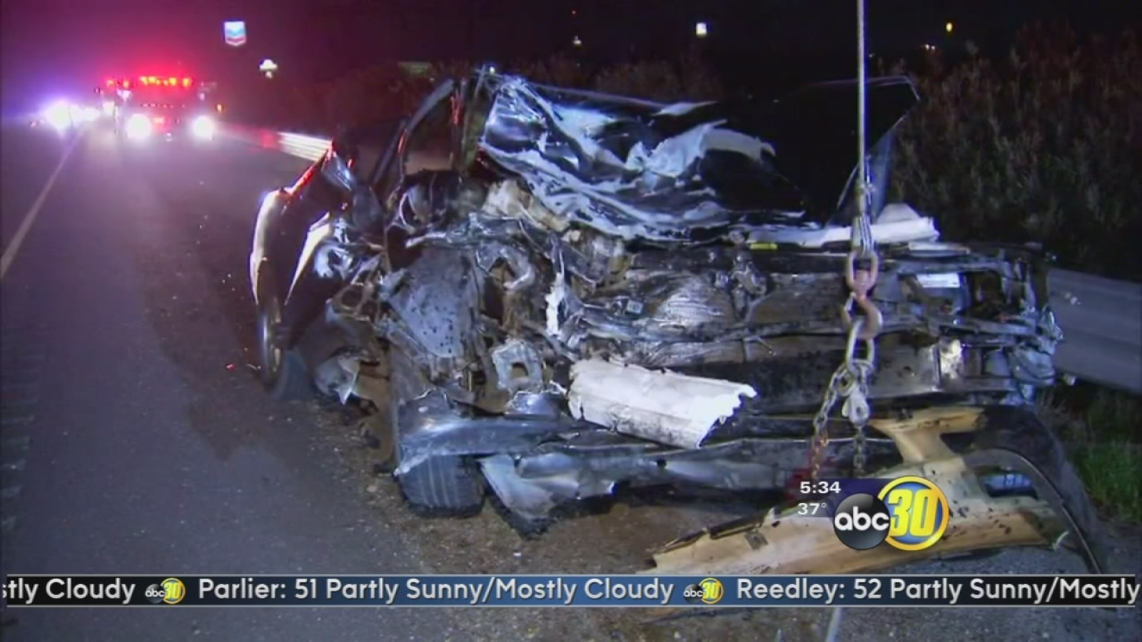 4 injured after head-on crash with drunk driver on Highway 99