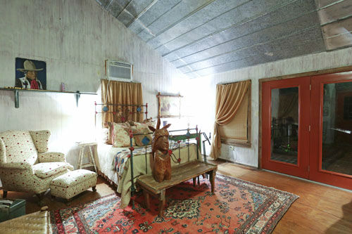 """<div class=""""meta image-caption""""><div class=""""origin-logo origin-image none""""><span>none</span></div><span class=""""caption-text"""">This one-of-a-kind ten acre ranch in Round Top includes seven independent vintage buildings overlooking a beautiful pond. (Photo/PHOTOS COURTESY OF TK IMAGES)</span></div>"""