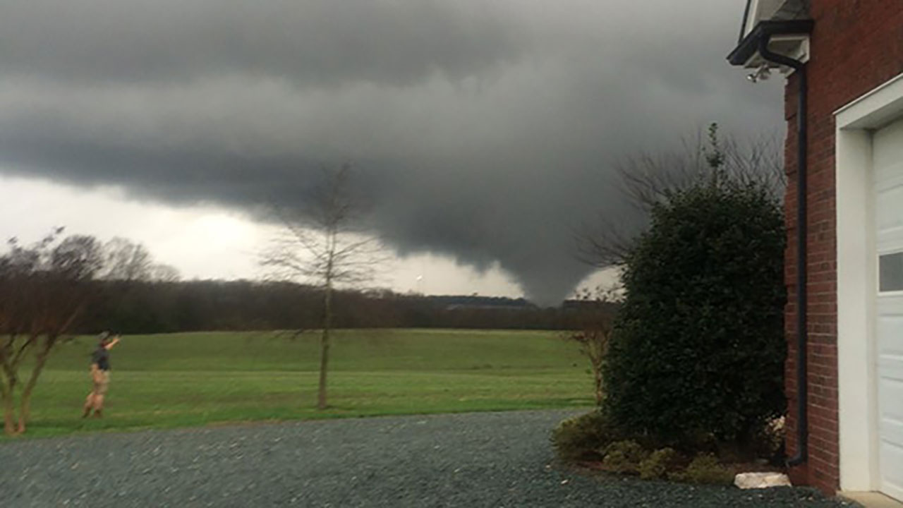 Possible Union County tornado
