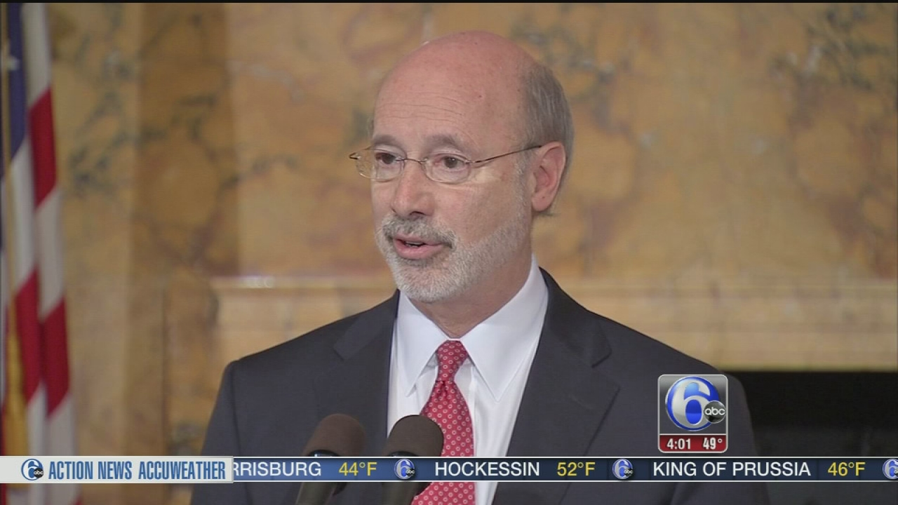 VIDEO: Pa. budget battle
