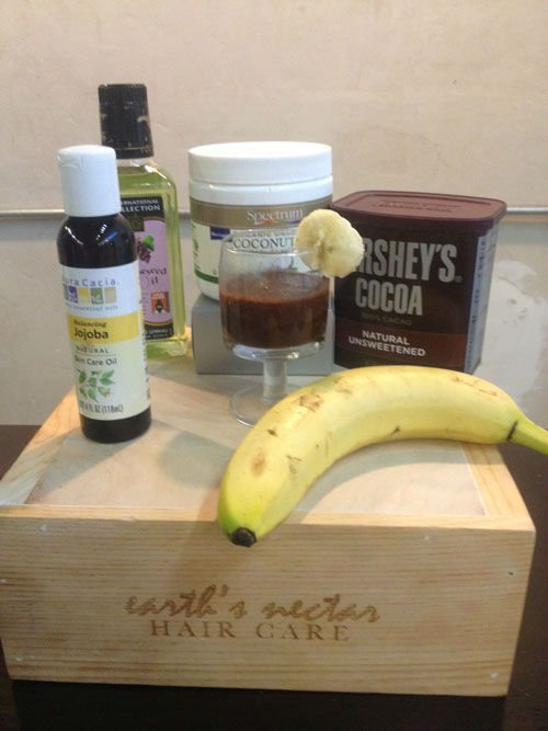 """<div class=""""meta image-caption""""><div class=""""origin-logo origin-image none""""><span>none</span></div><span class=""""caption-text"""">Five ingredients to get a chocolate lover's hair smoothie (Photo/KTRK)</span></div>"""